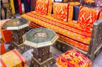פינות ישיבה מרוקאיות